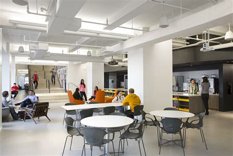 empty cubicles in a modern office building by a look inside 39 s hq in the empire state