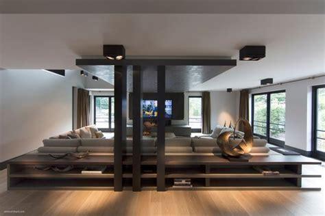 Ultramodern Sleek House With Sharp Lines by 25 Best Sunken Living Room Ideas On Made In