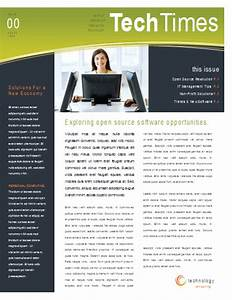 simple elegant two column newsletter template newsletter With newsletter free templates on microsoft word