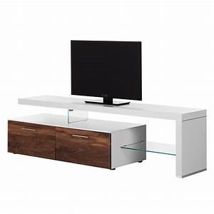 Tv Lowboard Weiß Holz : lowboard weiss nussbaum preisvergleich die besten angebote online kaufen ~ Bigdaddyawards.com Haus und Dekorationen