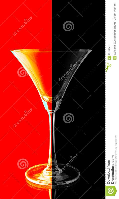 red and black l shade red and black shade on black background stock photography