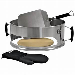 Kugelgrill Mit Thermometer : bbq toro pizza einsatz set f r 57 cm kugelgrill ~ Michelbontemps.com Haus und Dekorationen