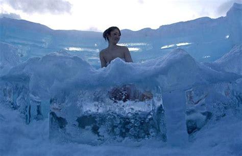 la chambre des d駘ices un hôtel de glace au japon luxuo luxe