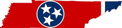 Free svg image & icon. File:Flag-map of Tennessee.svg - Wikipedia