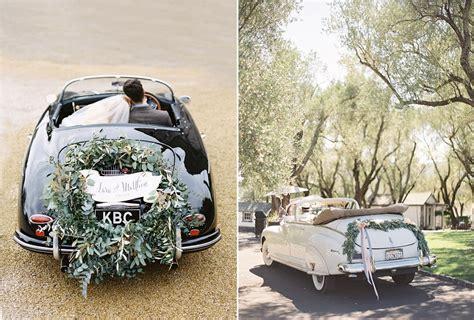 deco voiture mariage originale