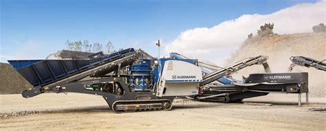 New Kleemann Cone Crushers Offer Fuel-efficient Operation