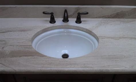 replacing undermount bathroom sink granite countertop