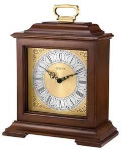 bulova b1512 exeter chiming mantel clock the clock depot