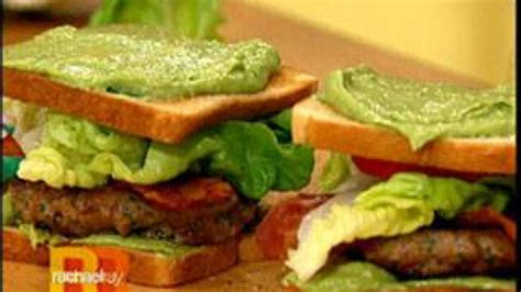 california turkey club burgers rachael ray show