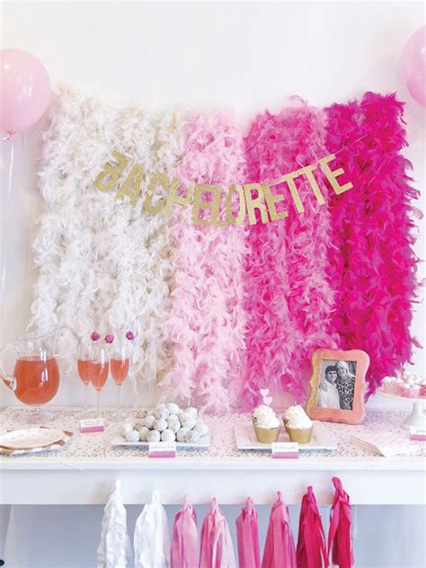 15 easy decorations for your bridal shower or bachelorette