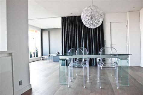 chaise de cuisine transparente chaise de salle a manger transparente
