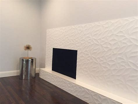 emser tile fireplace   tile jazz wall treatment