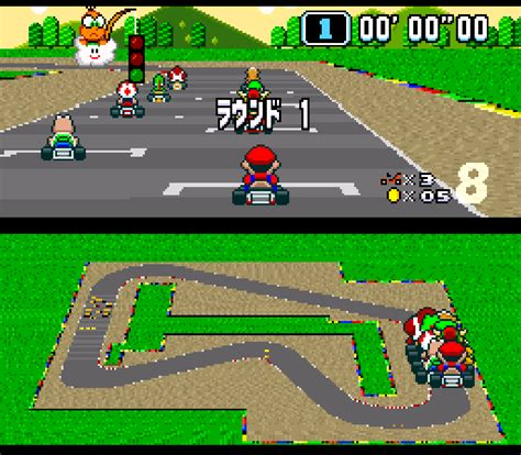 Super Mario Kart Japan Rev 0a Rom