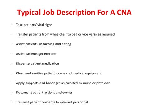 all about certified nursing assistant and typical