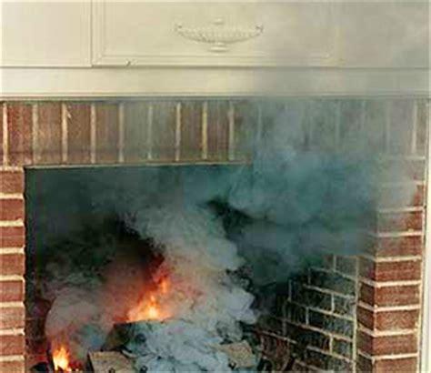 smoking fireplaces chimney draft problems chimney