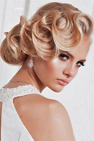 Vintage Hair Wedding Hairstyles Updos