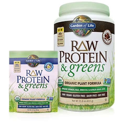 Garden Greens Protein Shake Review by Garden Of Life Raw Protein Greens