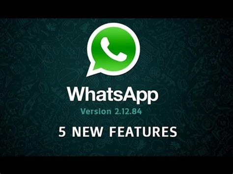 5 new whatsapp features you don t about