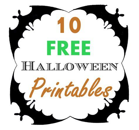 Free Halloween Printables Roundup  Hoopla Events Krista