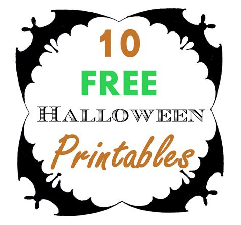 halloween printables roundup hoopla  krista