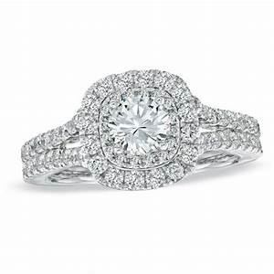 vera wang love collection 1 1 2 ct tw diamond frame With vera wang wedding rings love collection
