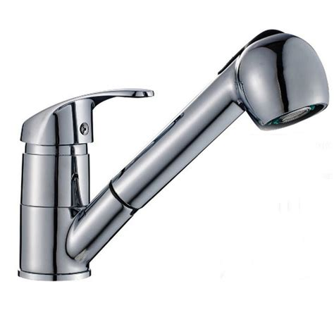 classic single handle kitchen sink faucet  pull