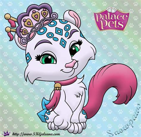 Snowpaws Princess Palace Pets Coloring Page Skgaleana