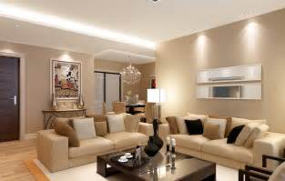 3d view interior of living room 3d house