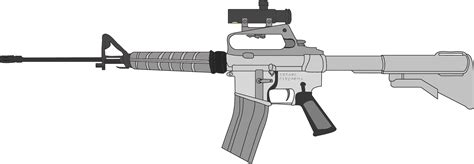Free Ar-15 Guns Cliparts, Download Free Clip Art, Free
