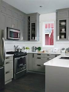 19 practical u shaped kitchen designs for small spaces for Small u shaped kitchen designs