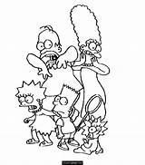 Coloring Simpson Simpsons Marge Printable Bart Lisa Homer Sheets Maggie Getcolorings Popular Ecoloringpage Getdrawings Library Clipart sketch template