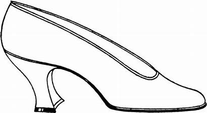 Shoe Clipart Lady Shoes Cinderella Slippers Clip