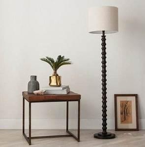 save vs splurge top lighting trends for your apartment With shiloh floor lamp dark bronze threshold