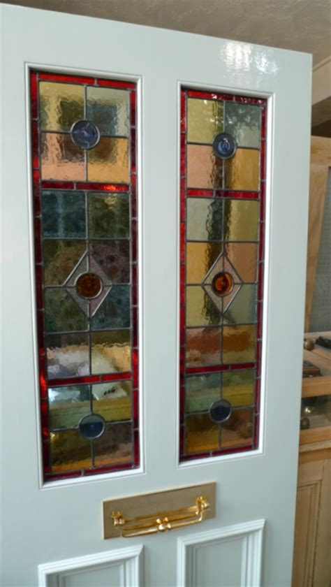 stained glass front door    panels stained glass doors company