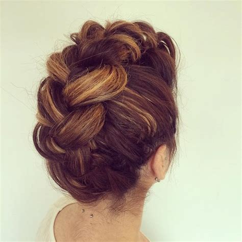 Mohawk Updo Hairstyles by Top Trendy Updo Hairstyles 2015 Hairstyles 2017 Hair