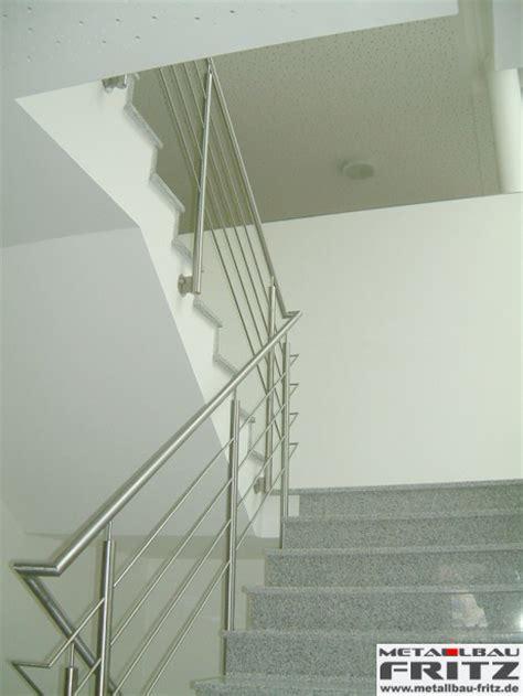 treppengeländer glas innen edelstahl treppengel 228 nder innen 04 02 metallbau fritz