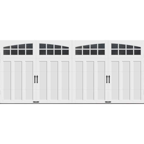 16 Ft Garage Door clopay coachman collection 16 ft x 7 ft 18 4 r value