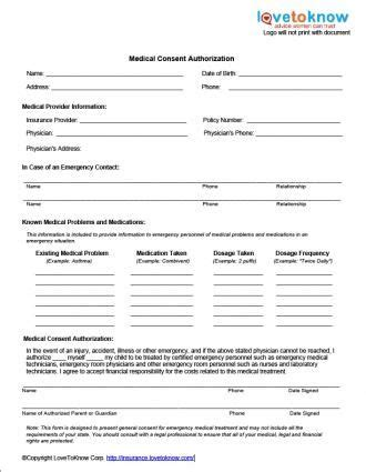 medical consent form sewing  needle arts pinterest