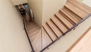 Escalier Bois Blanc : david gilbert escaliers 100 bois photos ~ Melissatoandfro.com Idées de Décoration