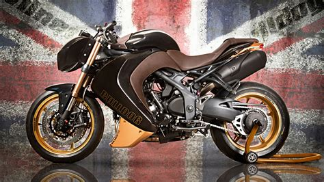 Vilner Triumph Speed Triple Bulldog Wallpapers