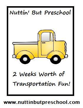 187 preschool lesson plans nuttin but preschool 469 | Transportation