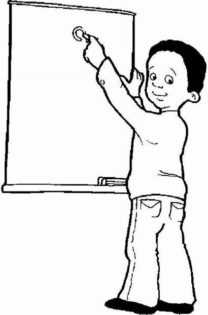 Teacher Coloring Meet Pages