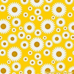 Seamless Daisy Pattern - Background Labs