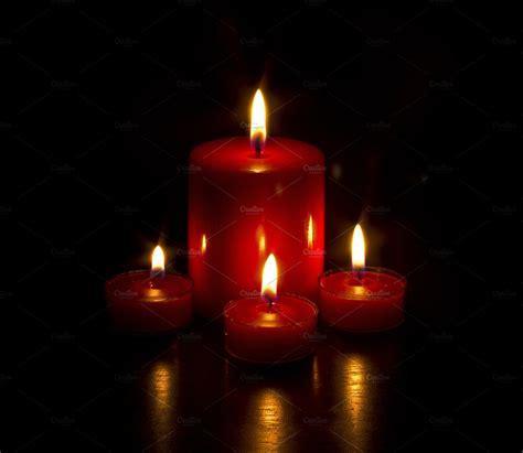 burning candles holiday  creative market