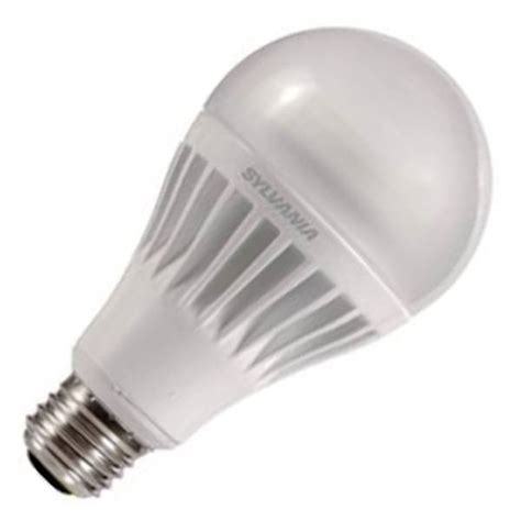 sylvania 79105 led17a21dimo827g3 a line pear led light