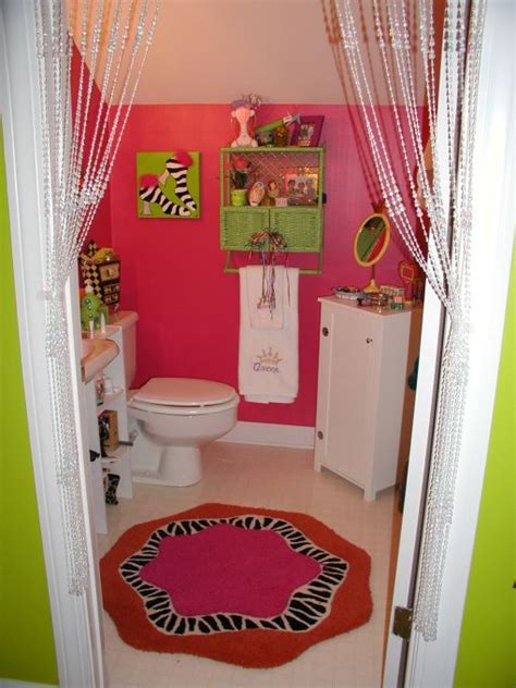 tween bathroom ideas i like the placement of the jewelry organizer with the attached towel rack cute interior