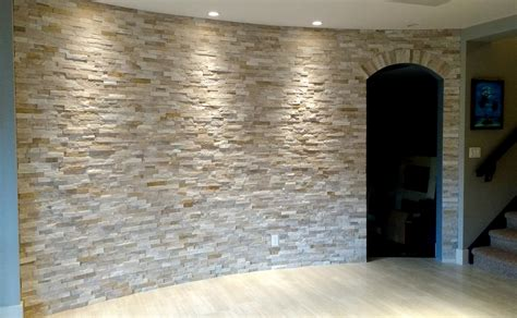 curved basement wall ecostone products