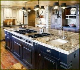 kitchen island stove top kitchen island with sink and stove top home design ideas