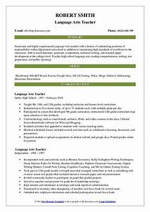 Activities Resume For College Template Arts Teacher Resume Samples Qwikresume