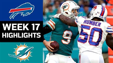 bills  dolphins nfl week  game highlights youtube
